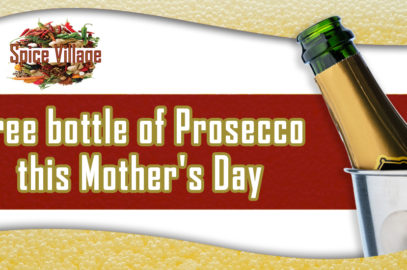 Free bottle of Prosecco this Mother's Day
