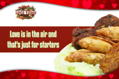 Spice Village Valentine's evening special offer 2018